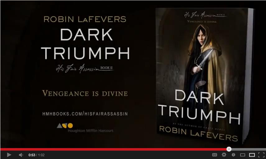 Dark Triumph by Robin LaFevers   Book Trailer  His Fair Assassin Trilogy Book  2    YouTube