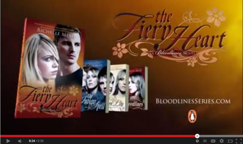 FIERY HEART   official book trailer   YouTube