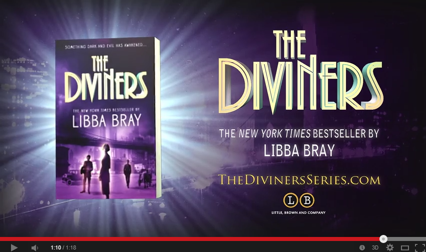 THE DIVINERS by Libba Bray  Paperback Novel    YouTube