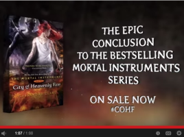 Cassandra Clare s City of Heavenly Fire   Official Trailer   YouTube