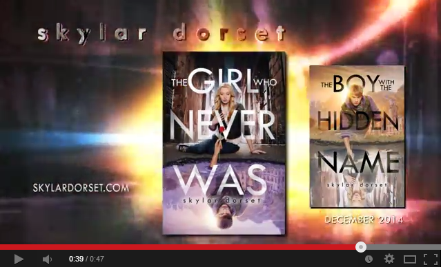 The Girl Who Never Was by Skylar Dorset Book Trailer   YouTube