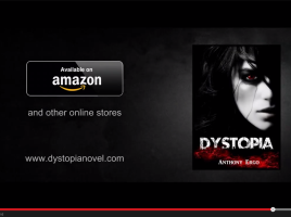 DYSTOPIA by Anthony Ergo   Official Book Trailer   YouTube