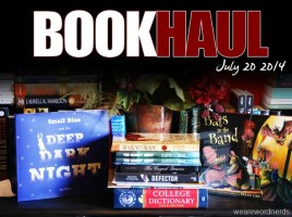 Book haul - July 20th, 2014 | wearewordnerds.com
