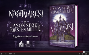 Nightmares by Jason Segel and Kirsten Miller   Book Trailer  2   YouTube