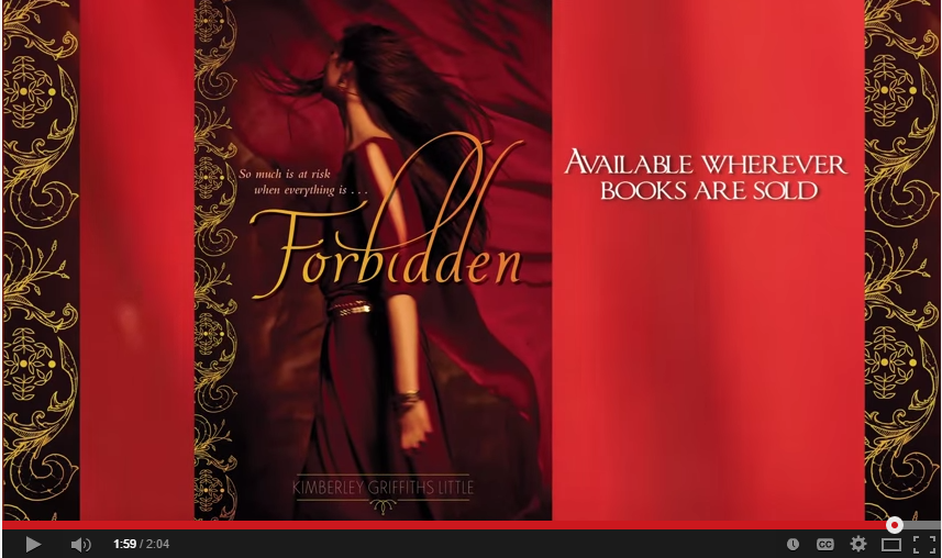 FORBIDDEN by Kimberley Griffiths Little  Official Book Trailer  Harpercollins  Epic Reads   YouTube