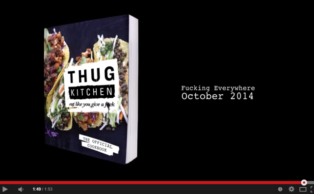 Thug Kitchen Cookbook Trailer  explicit    YouTube