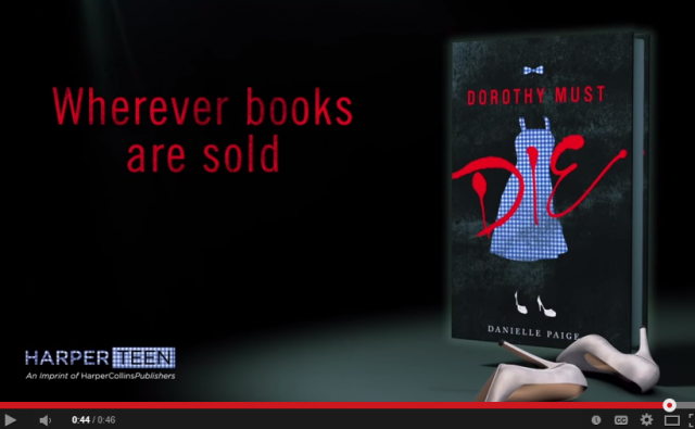 DOROTHY MUST DIE    Official Book Trailer   YouTube