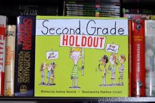 Second Grade Holdout by Audrey Vernick